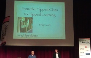 FlipCon13 Aaron Sams and Jon Bergmann cropped