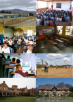 The huge diversity in school contexts in South Africa. Photo credits: at end of post