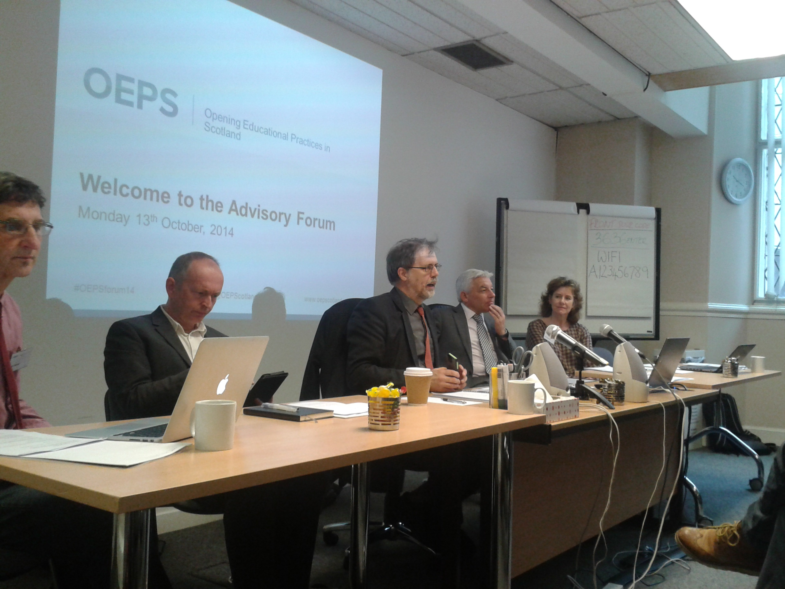 Opening Educational Practices in Scotland (OEPS) Launch