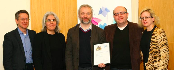 OER Research Hub wins Engaging Research Award!